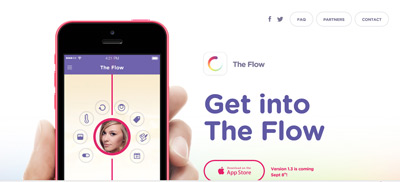 The Flow mobile phone app